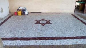 Fotos Serviços em Calçadas Mosaico 15